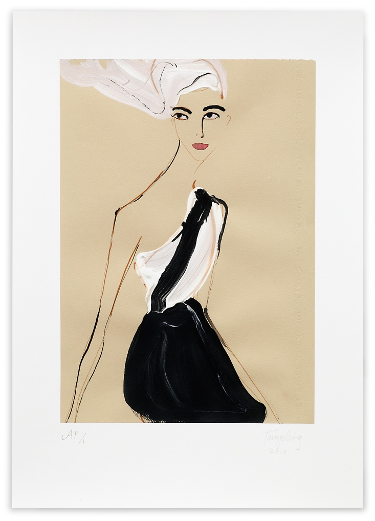 fashion illustration rates chanel 2010 limited edition fig print signed and numbered by the artist price