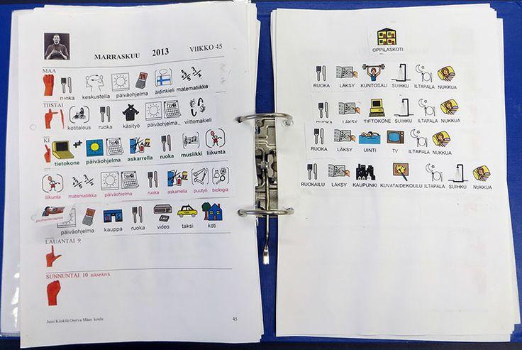 Jussi Kiiskilä MILLON on vuosi- ja viikkokalenteri, jota voidaan täydentää piirtämällä, kirjoittamalla, valokuvilla tai kommunikaatiokäyttöön suunnatuilla tietokoneohjelmilla. Kalenterin sivut ovat A4-kokoisia ja tulostettavissa. Kalenteri sopii lapsille ja aikuisille, jotka tarvitsevat kuvia puheen tai viittomien tueksi tai selvennystä aikakäsitykseen. Kalenteria voidaan käyttää aktivoivana 'reissuvihkona' esimerkiksi kodin ja koulun välillä. Kalenteri mahdollistaa … Continued