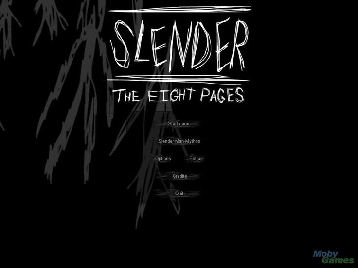 Slender: The Eight Pages (i am appalled at my previous behaivour)