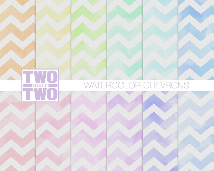 Watercolor Chevron Digital Paper with Pink Green Blue Purple Orange and Yellow Patterns Spring or Easter Background digital paper watercolor chevron watercolor paper watercolor chevron background chevron paper digital chevron pattern pink watercolor watercolor pattern Spring Easter 4.55 USD #goriani