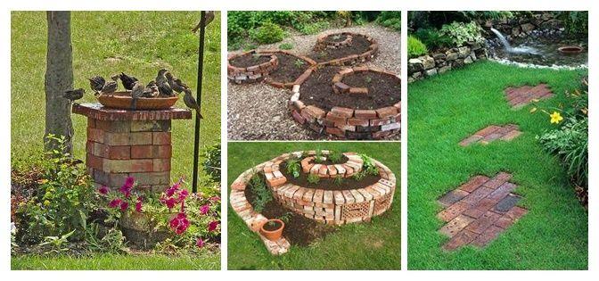 20+geniálních+nápadů,+jak+na+zahradě+využít+nepotřebné+cihly