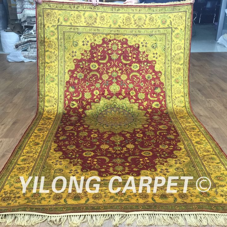 Yilong 5'x8' vintage handmade rectangle carpet used oriental rugs for sale (G75C 5x8)