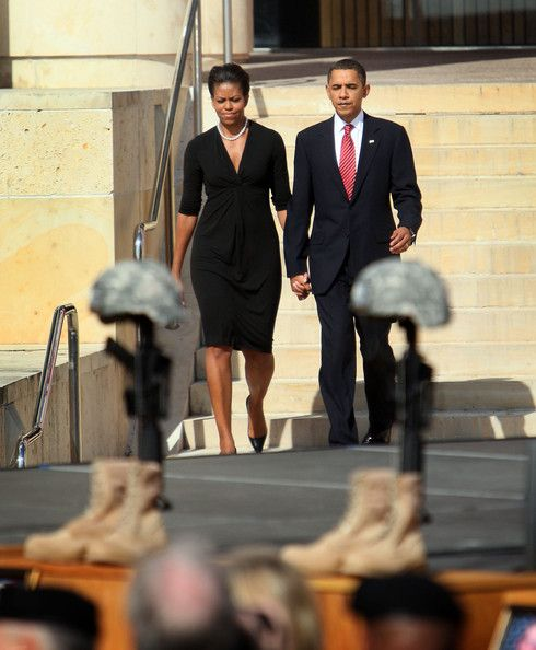 President Obama Attends Memorial Service At Ft. Hood For Shooting Victims