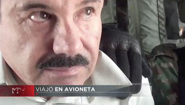 El Chapo Llegó En Una Avioneta A Su Escondite Secreto #Video