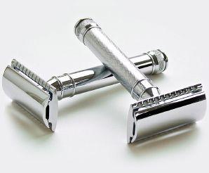 Chrome & Barley Chrome Razors from Smooth & Groomed.