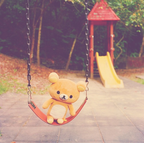 rilakkuma on swing