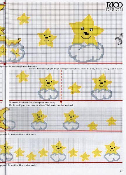 Pin Gráficos Ponto Cruz De Alfabetos Toalhas E Colchas Mega Artigos