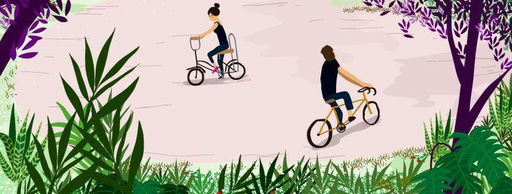 #bike #biking  #bici #sunday #illustration #bicycle #personalwork Sergio D Doria