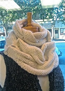 Knitting this!