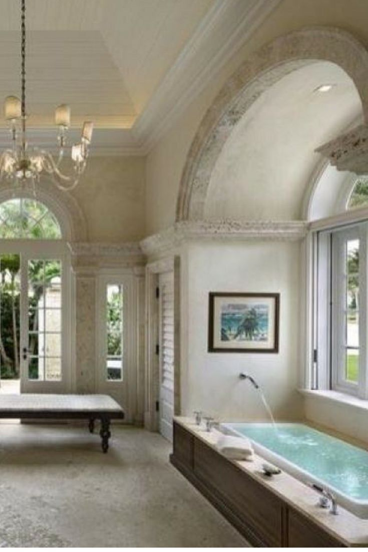 Large custom luxury master bathroom in custom built home an absolute beauty