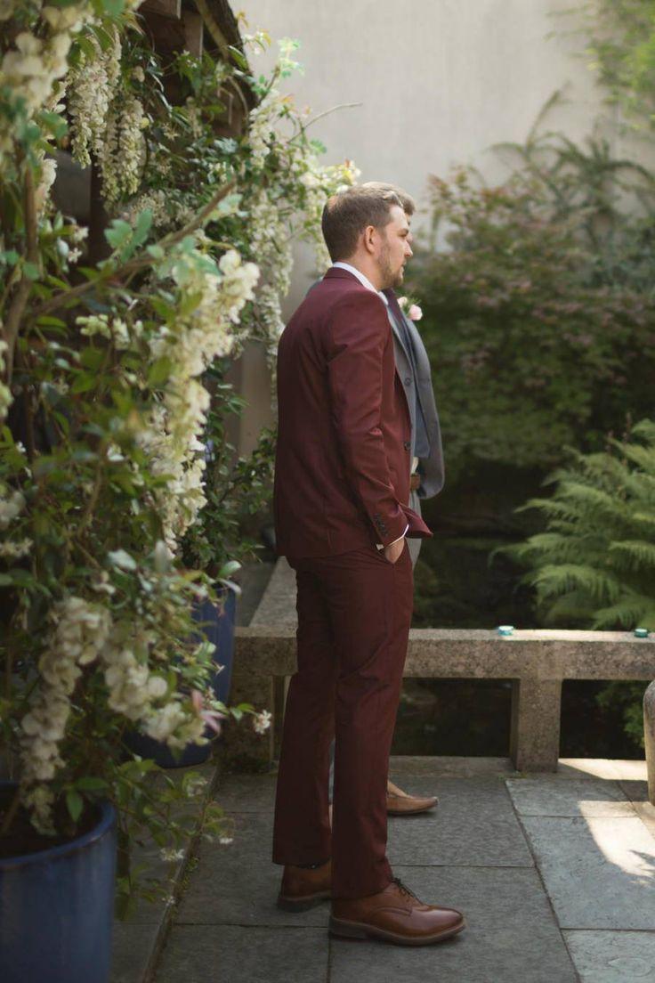 Floral Needle & Thread Wedding Gown For An Oriental Garden Wedding: Alice & Matthew