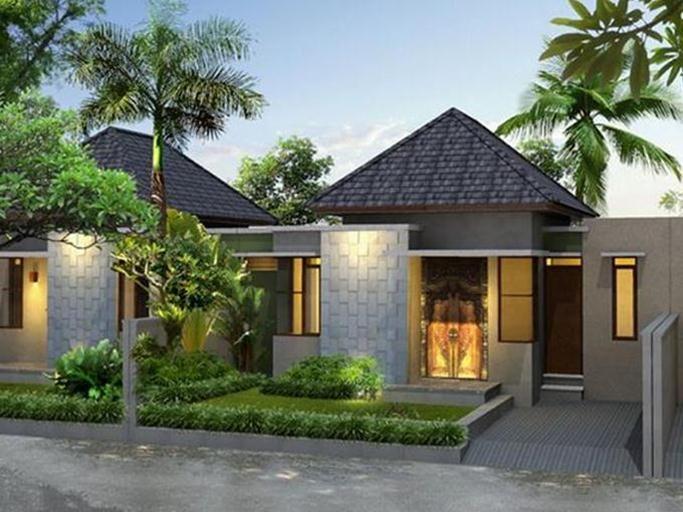 Modern Tropical Home Decorating Idea