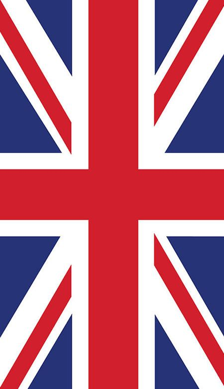 The Union Jack is the national flag of the United Kingdomm of Great Britain and Northern Ireland. The design of the Union Jack combines aspects of three older national flags: the red cross of St George of England, the white saltire of St Andrew for Scotland and the red saltire of St Patrick to represent Ireland. Wales, despite also being part of the Union, has never been represented on the flag. Photo: allaboutyou.com