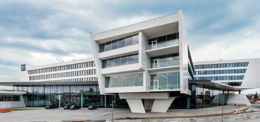 ZF Friedrichshafen AG, ZF Forum – Gebäude von außen.