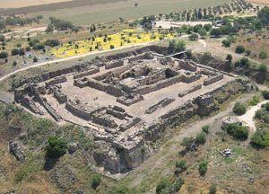 Belvoir Castle - Ruined Concentric Crusader Castle in Israel