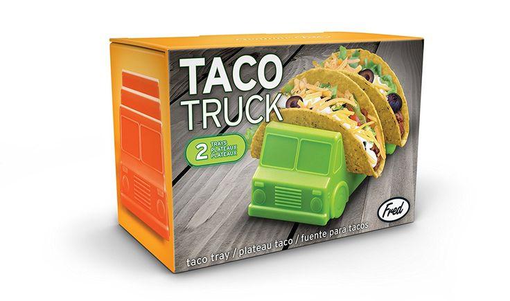 Amazon.com | Fred TACO TRUCK Taco Holder, Set of 2: Serveware Accessories