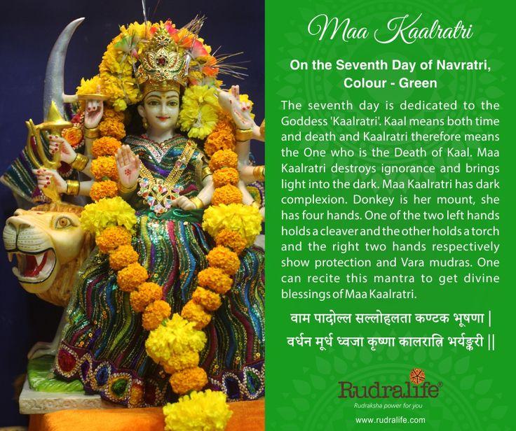 7th Day of Chaitra Navratri  #navratri #mata #hindu #india #festival #gudipadwa #navratra #navratre #rudralife #shiva #rudraksh #god #goddess #kaalratri #maakaalratri
