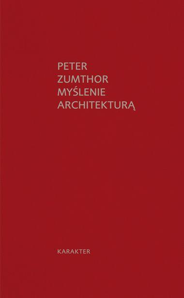 Zbiór esejów jednego z najwybitniejszych współczesnych architektów, laureata nagrody Pritzkera w 2009 roku. Czym jest piękno w architekturze? Jak kształcić architektów? Co to znaczy, że budynek ma duszę? Jakie są zadania współczesnej architektury? Architektura ma swój własny obszar istnienia. Pozostaje w wyjątkowo cielesnym związku z życiem. W moim wyobrażeniu nie jest ona zasadniczo ani przesłaniem, ani znakiem, lecz oprawą i tłem dla przemijającego życia, wrażliwym naczyniem dla rytmu…