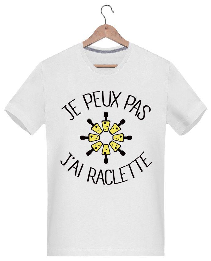 T-Shirt Homme Je peux pas j'ai Raclette - Freeyourshirt.com - #humour #citation #tshirt #fashion #mdr #raclette