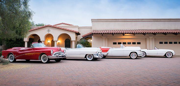 Buick Skylark, Cadillac Eldorado, Oldsmobile Fiesta, Chevrolet Corvette
