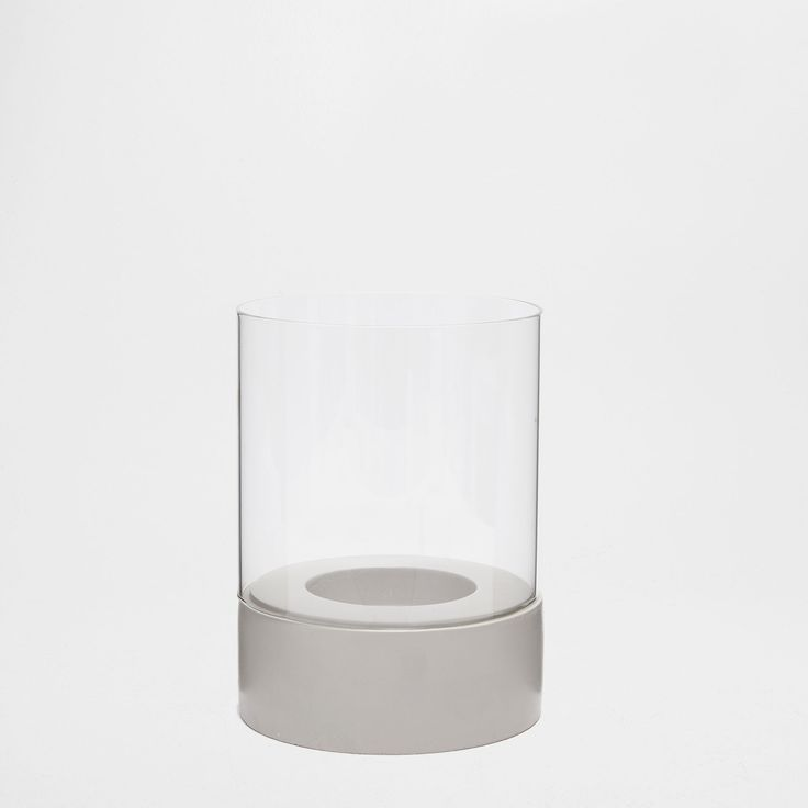 Image 1 du produit Lanterne verre base ciment