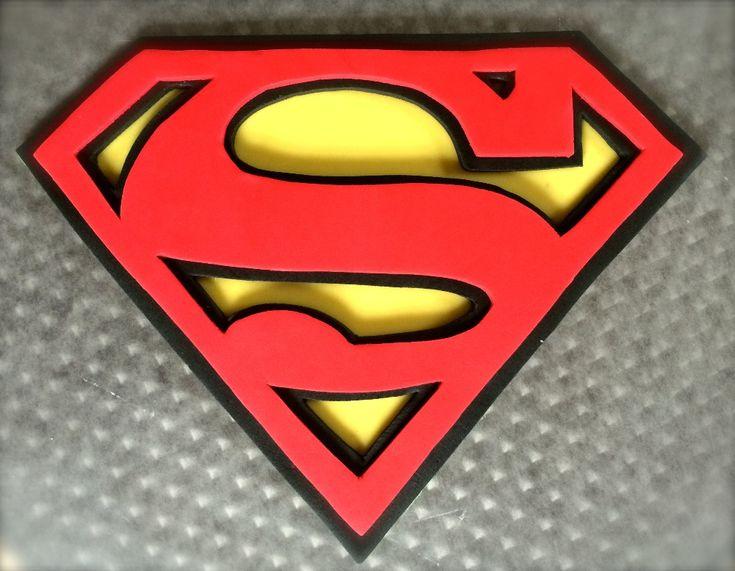 Best 25 superman cake topper ideas on pinterest for Superman logo template for cake