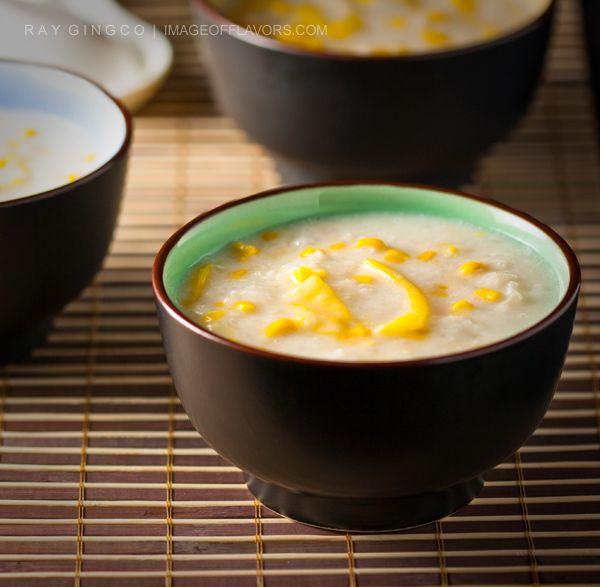 Ginataang Mais (Sweet Corn in Coconut Milk) Recipe | wokwithray.net- Filipino & Asian Home Style Cooking