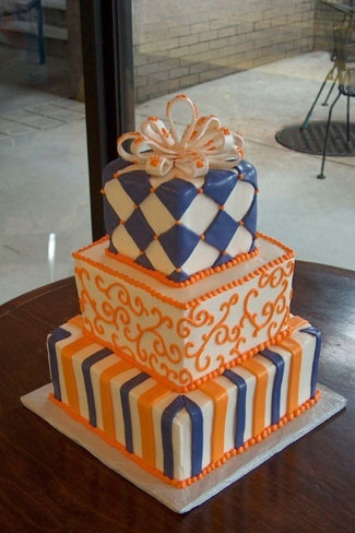 clemson cake! Love it :)