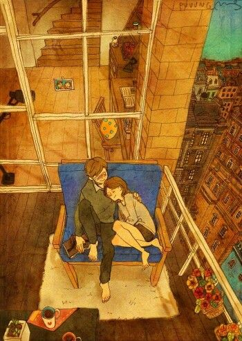 Best Puuung What Real Love Is Images On Pinterest Small - Cute illustrations capture how love is in the small things