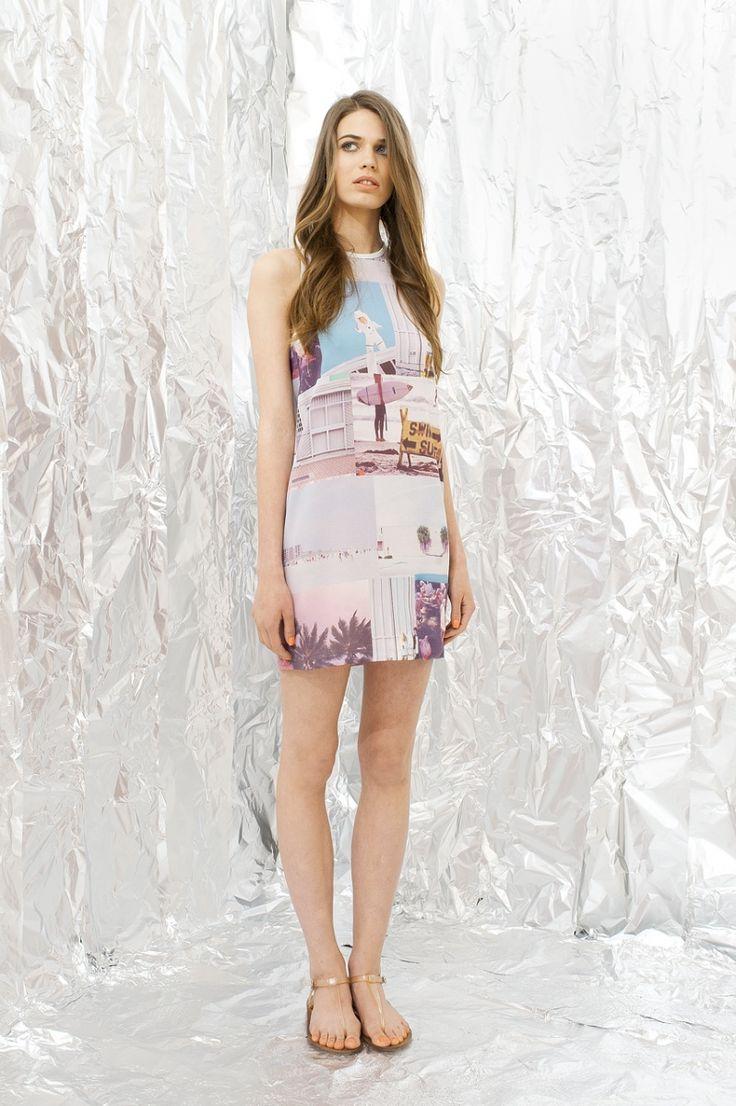 Flo Rida Print Dress by DAIGE