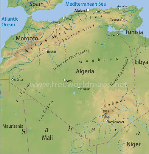 The 25 best Carte geographique algerie ideas on Pinterest