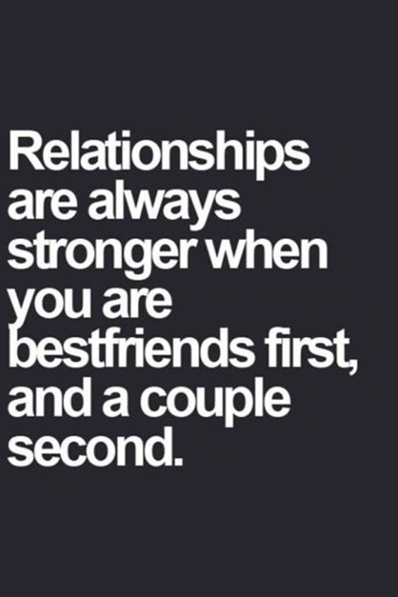 So true!! Learned this the hard way! When you jump into something before you really know somebody it's a death sentence for a relationship..
