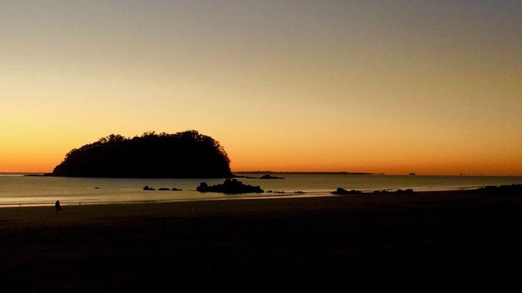Sunrise @ Rabbit Is. @ Mt Maunganui