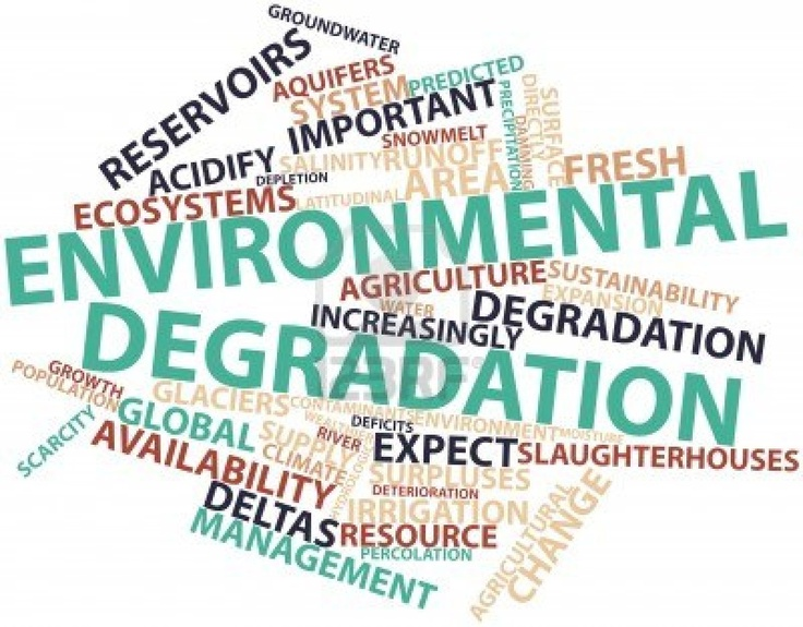 Types of Environmental Degradation