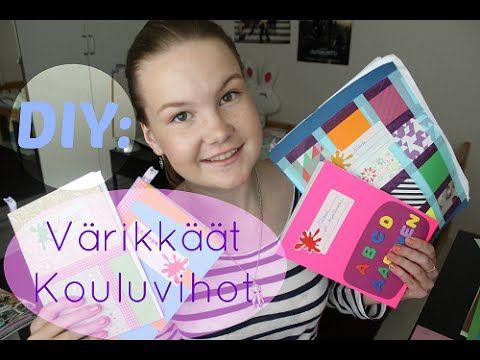 ♥DIY: Värikkäät Kouluvihot!♥ - YouTube