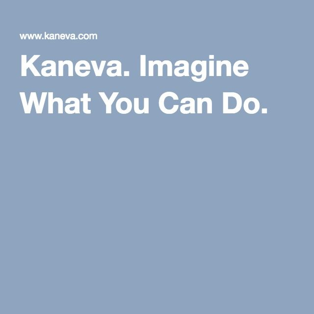 Kaneva. Imagine What You Can Do.