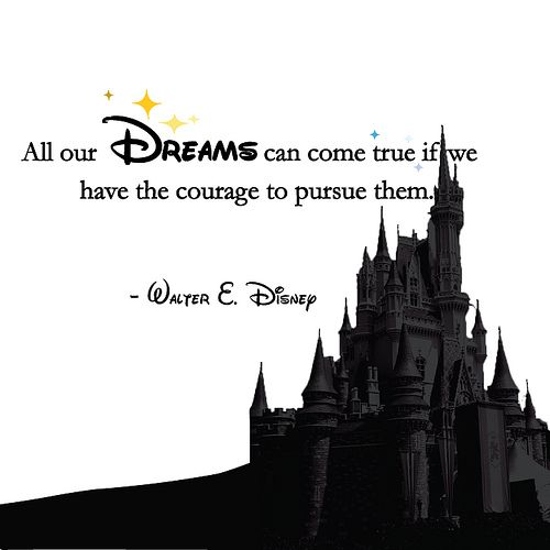 : Follow Your Dreams Quotes, Walt Disney, Disney Quotes, Waltdisney, Disney Dreams, Favorite Quotes, Things Disney, Inspiration Quotes, Quotes Pursu Your Dreams