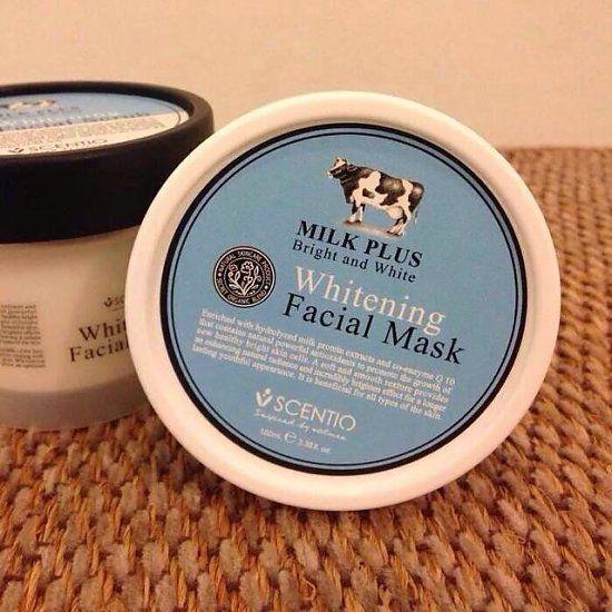 Beauty Buffet Q10牛奶系列面膜纯天然牛奶提取,滋润美白,保湿补水皮肤