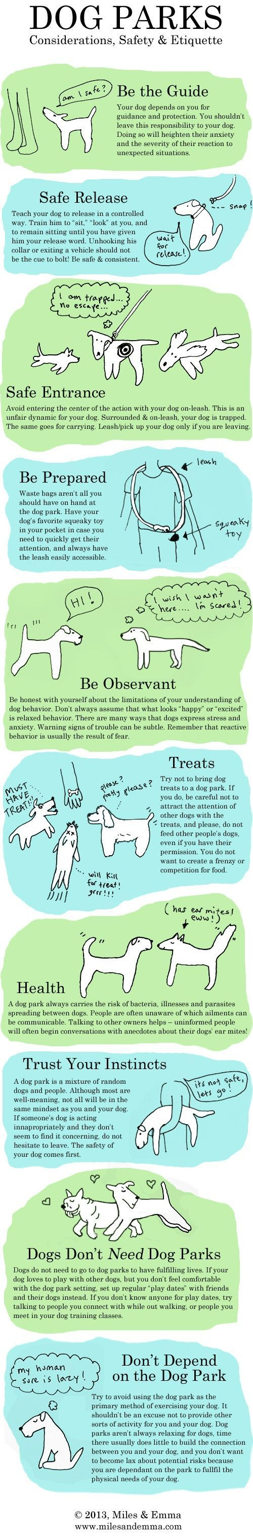 Dog Parks: Considerations, Safety & Etiquette. @KaufmannsPuppy