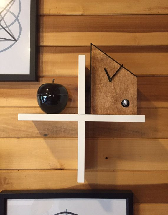 Emhaus Uhr  Modern Cuckoo Clock  by EmhausClockworks  |  $165 + $14 shipping