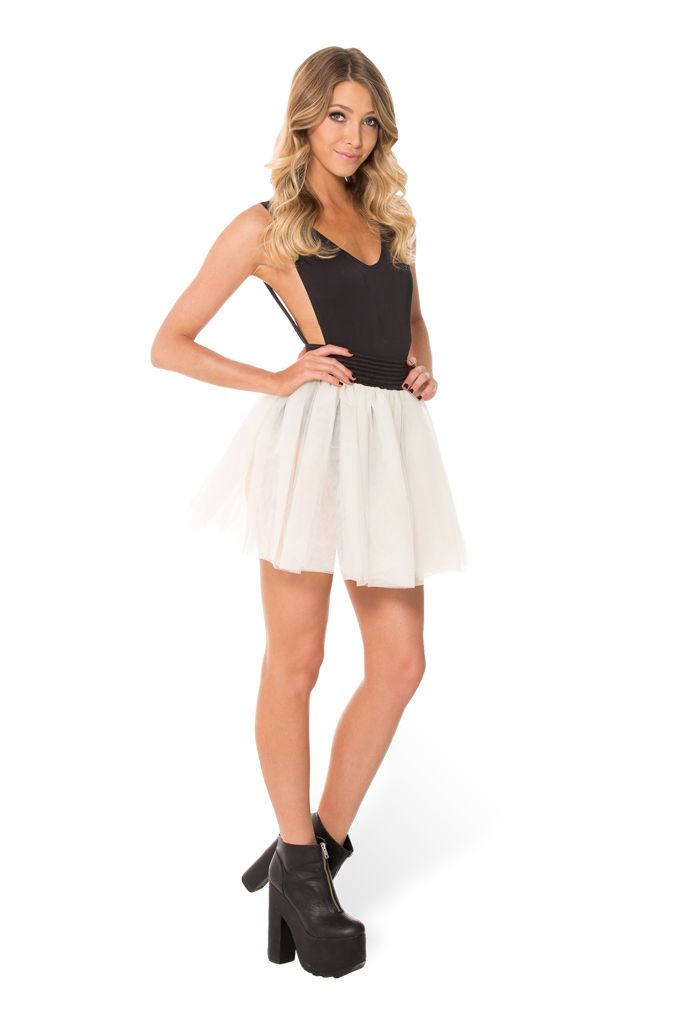 En Pointe Tulle Skirt (WW $99AUD / US $94USD) by Black Milk Clothing