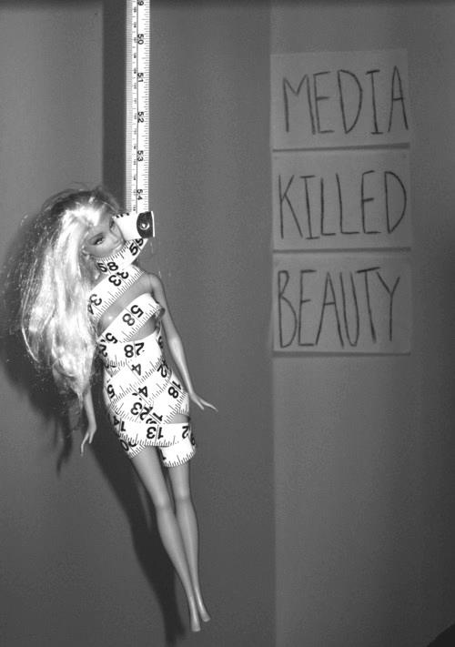 Media killed beauty | Anonymous ART of Revolution