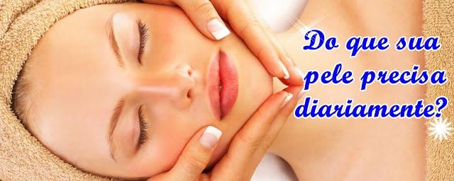 Dicas de cuidados para uma pele linda e saudável.