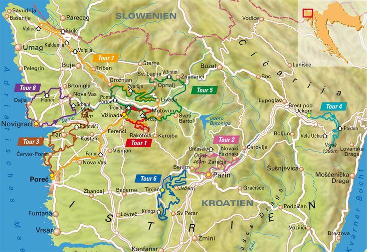 Istrien ist viel mehr als nur Sonne, Beach und Badespaß. Im Landesinneren der Halbinsel verstecken sich jede Menge Top-Trails. MountainBIKE stellt acht Touren vor - inklusive GPS-Daten.