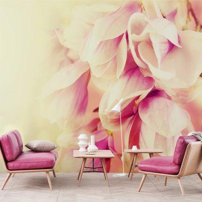Fototapetul personalizat   Puritatea Verii  perfect pentru a decora integral un perete din casa ta sau dintr-un alt spatiu: bar, restaurant, hotel, birou s.a.