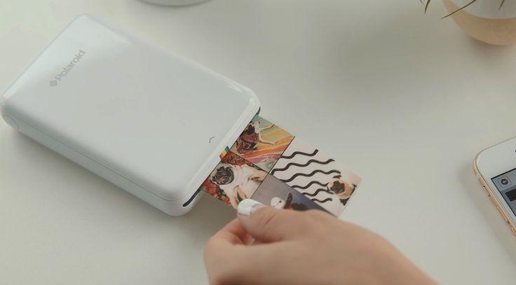 La impresora portátil para fotografías de Polaroid se llama ZIP