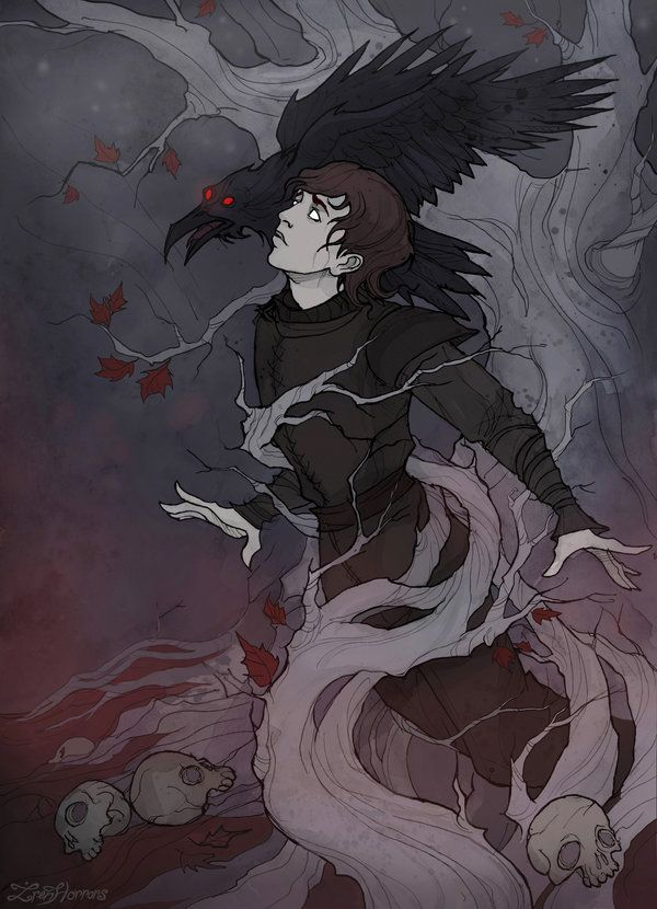 (Music: Ramin Djawadi – Three Eyed Raven) I believe that Bran will play a very important role in the future of Westeros Pigmented ink fineliner, watercolor and&n...