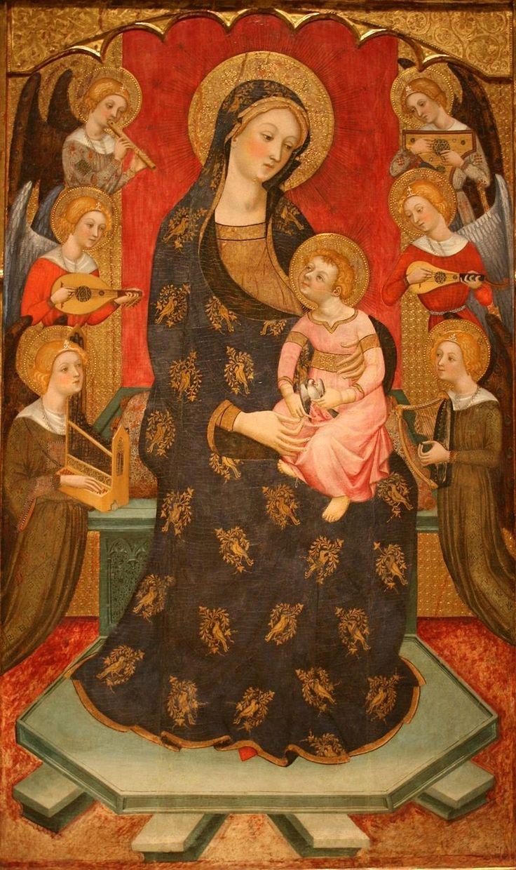 Рere Serra-Retaule de la Mare de Déu dels Àngels- Catedral de Tortosa.