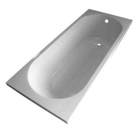 Baignoire rectangulaire L.170x l.70 cm blanc Nerea