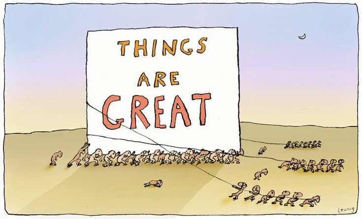 Michael Leunig, Things Are Great